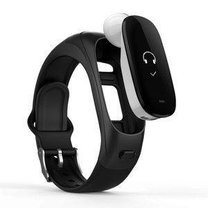 Fitness Tracker and Wireless Bluetooth Earbud 2-in-1 Smart Wristband
