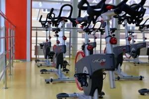 Bikes at a Gym