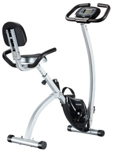 FEIERDUN Exercise Bike - Adjustable Folding Upright Magnetic Stationary Bike