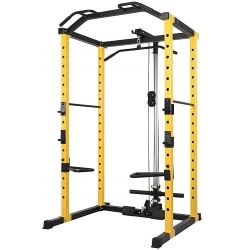 HulkFit 1000-Pound Capacity Multi-Function Adjustable Power Cage