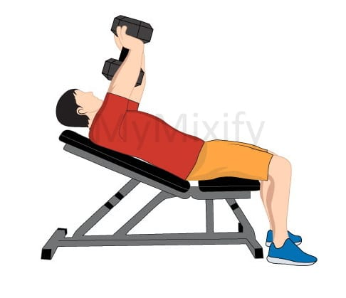 Incline Dumbbell Pullover Pic 1