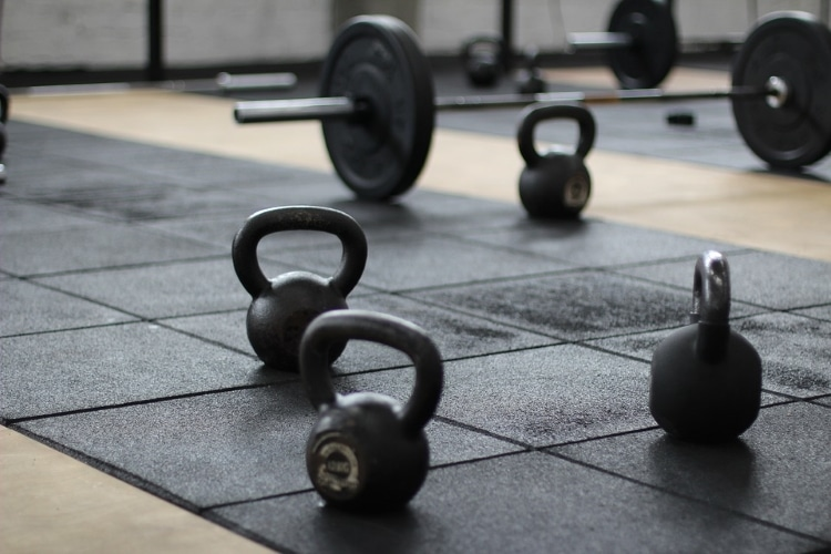 Kettlebell and Barbells