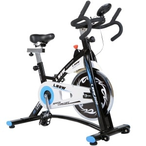 L NOW Indoor Cycling Bike Smooth Belt Driven Model D600