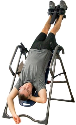 Man in Inclined Position