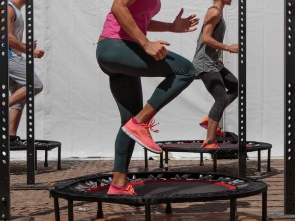 Mini Trampoline Workout