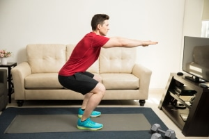 Squat Exercises at Home