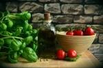 Tomatoes Olive Oil Basil